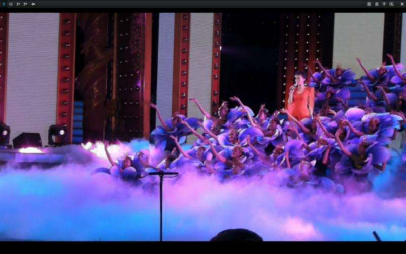 舞台运用干冰
